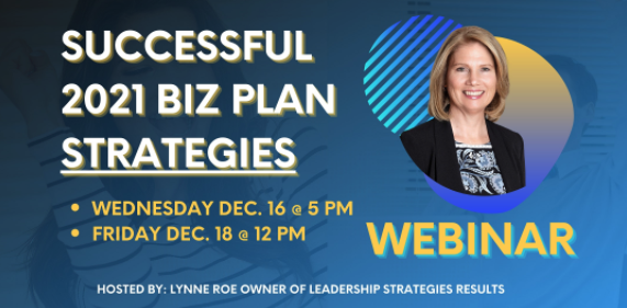 successful 2021 biz plan strategies webinar